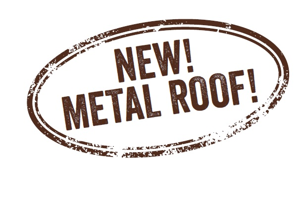 metalowy dach